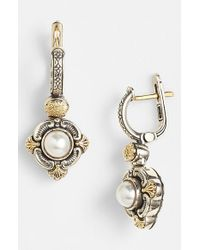Konstantino | Metallic 'hermione' Pearl Drop Earrings | Lyst