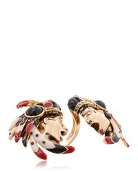 Schield - Metallic Indian Ring - Lyst