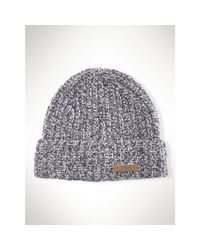 Polo Ralph Lauren - Gray Classic Beanie for Men - Lyst
