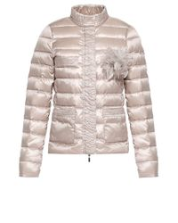 Liu Jo | Gray 'lyon' Short Quilted Jacket | Lyst