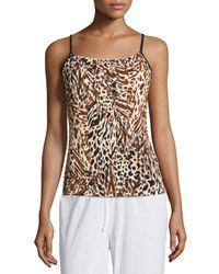 Cosabella - Brown Sapna Pajama Camisole - Lyst
