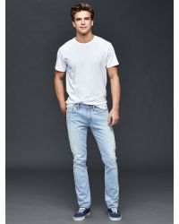 Gap - Blue Stretch 1969 Skinny Fit Jeans for Men - Lyst