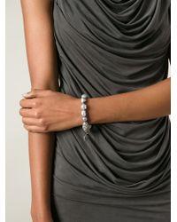 Loree Rodkin - Gray Keshi Pearl Bracelet - Lyst