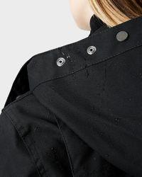 HUNTER | Black Women's Original Waxed Hunting Coat | Lyst