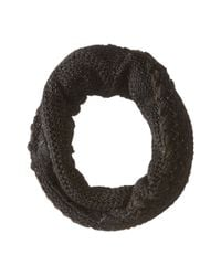 Lauren by Ralph Lauren - Black Multi Texture Ring - Lyst