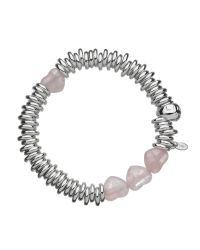 Links of London | Metallic Sweetie Candy Hearts Sterling Silver Bracelet | Lyst