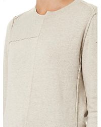 Étoile Isabel Marant - Natural Tehora Reverse-Seam Sweater - Lyst
