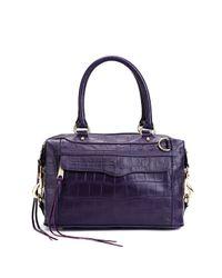 Rebecca Minkoff | Purple Made in Nyc Mab Mini | Lyst