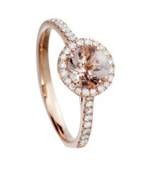 Astley Clarke | Metallic Morganite Tearoom Ring | Lyst