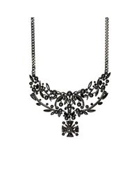 Givenchy | Black Bib Necklace | Lyst