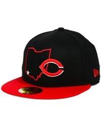 KTZ | Cincinnati Reds Mlb States 59fifty Cap for Men | Lyst