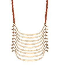 Lucky Brand | Metallic Nested Bib Necklace | Lyst