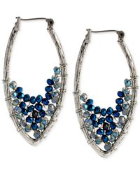 Kenneth Cole | Blue Linear Stick Earrings | Lyst