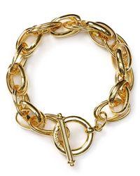 T Tahari | Metallic Chain Bracelet | Lyst