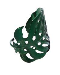 Maje | Green Navaja Leaf Cuff | Lyst