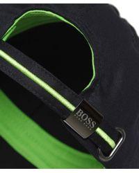 BOSS Green Black Logo Cap for men