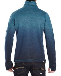 Bench | Blue Vertigo Athletic Zip Up for Men | Lyst