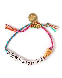 Venessa Arizaga | Multicolor 'Don'T Talk To Me' Bracelet | Lyst