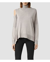 AllSaints | Brown Cecily Jumper | Lyst