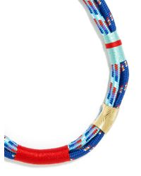 BaubleBar   Blue Maritime Cord Necklace   Lyst