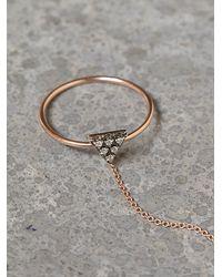 Zoe Chicco - Metallic Diamond Triangle Handpiece - Lyst