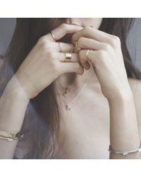 Bing Bang | Metallic Five Baguettes Cuff | Lyst