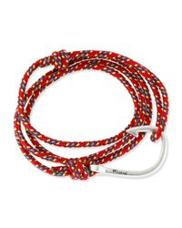 Miansai - Red Hook Rope Wrap Bracelet - Lyst