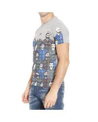 Frankie Morello | Gray T-shirt for Men | Lyst