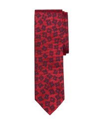 Brooks Brothers | Red Foulard Slim Tie for Men | Lyst