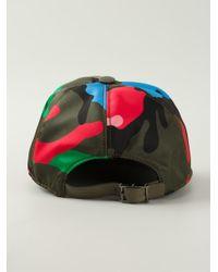Valentino Garavani camouflage baseball cap - Green Valentino NBb8PcFO5