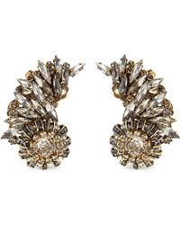 Erickson Beamon | Gray Velocity Earrings - For Women | Lyst