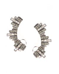 Ca&Lou | Metallic Lou Lou Lobo Antique Earrings | Lyst