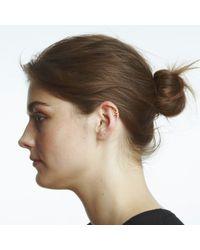 Maya Magal - Metallic Outline Ear Cuff Gold - Lyst