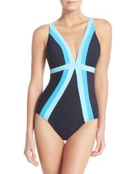 e5a8adab5c553 Lyst - Miraclesuit Miraclesuit 'spectra Trilogy' One-piece Swimsuit ...