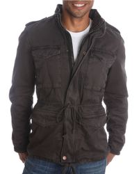 Lucky Brand | Blue Military Utility Jacket for Men | Lyst