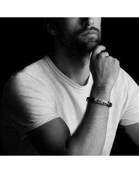 David Yurman | Bracelet In Black Leather for Men | Lyst