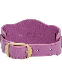 Balenciaga | Purple Arena Giant Bracelet | Lyst