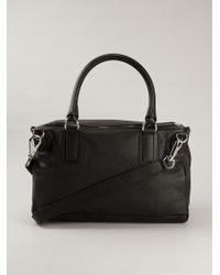 Givenchy - Black Large 'pandora' Tote - Lyst