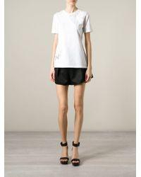 Ermanno Scervino - White Lace Insert T-shirt - Lyst