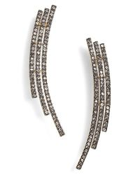 Nadri | Metallic Pave Ear Crawlers | Lyst