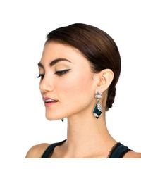 Lulu Frost - Green Reflection Earring - Lyst