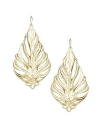 Kendra Scott | Metallic 'Selena' Drop Earrings | Lyst