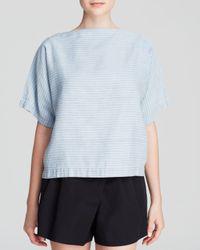 Marc By Marc Jacobs | Blue Top - Indigo Stripe Stripe Dolman | Lyst