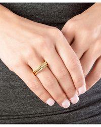 Gorjana | Metallic Mila Shimmer Ring Set, Rose Gold | Lyst