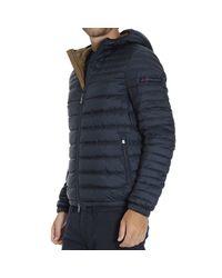 Peuterey - Blue Down Jacket for Men - Lyst
