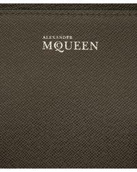 Alexander McQueen - Gray Medium Dark Grey Heroine Bag - Lyst