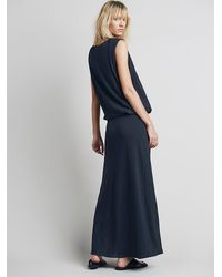Free People | Gray Fp Beach Womens Gallery Night Dress | Lyst