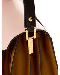 Marni - Pink Trunk Medium Leather Shoulder Bag - Lyst