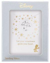 Disney - Metallic Pinocchio Umbrella Diamond Accent Pendant Necklace In Sterling Silver - Lyst
