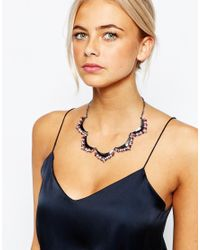 Oasis - Multicolor Ombre Petal Articulated Collar Necklace - Lyst